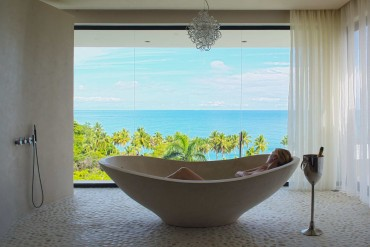 Dominican Republic Villa MD House Bath by Patrick Bennett