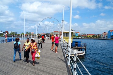 Queen Emma Bridge, Curacao | Credit: SBPR