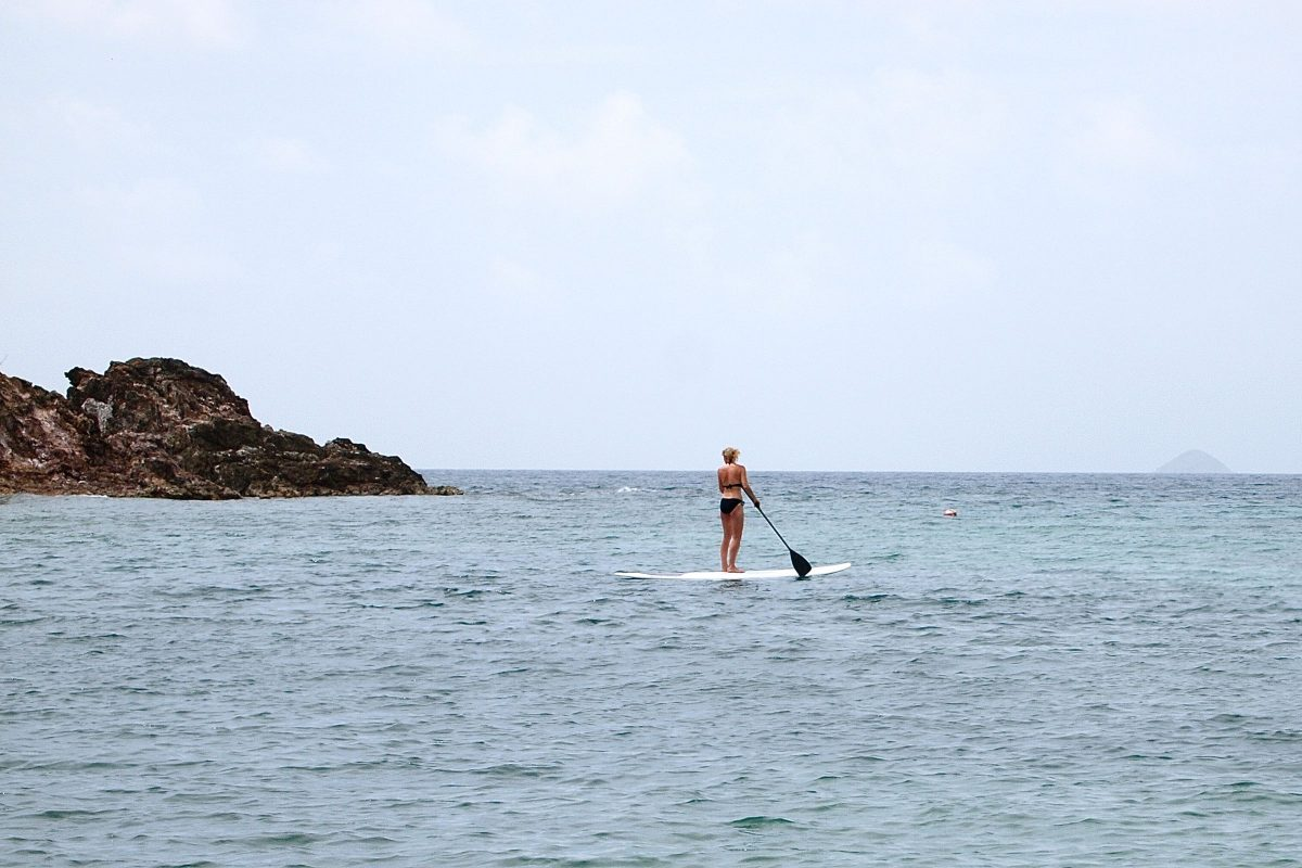 Paddleboarding in St. Thomas | SBPR