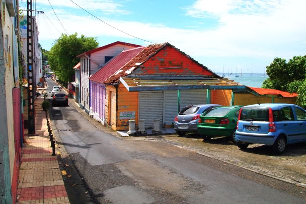 Quiet Street in Sainte-Anne, Martinique | SBPR