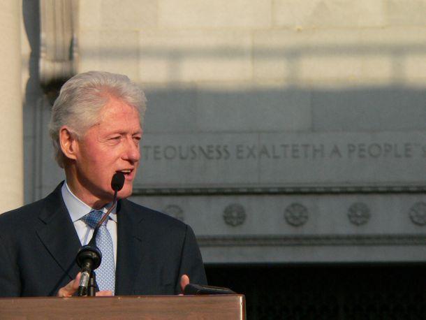President Clinton by VictoriaBernal via Flickr
