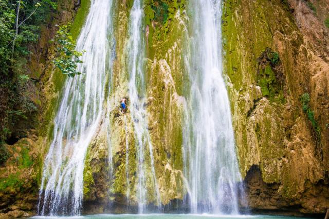 Salto del Limon Waterfall, Samana, Dominican Republic by Patrick Bennett