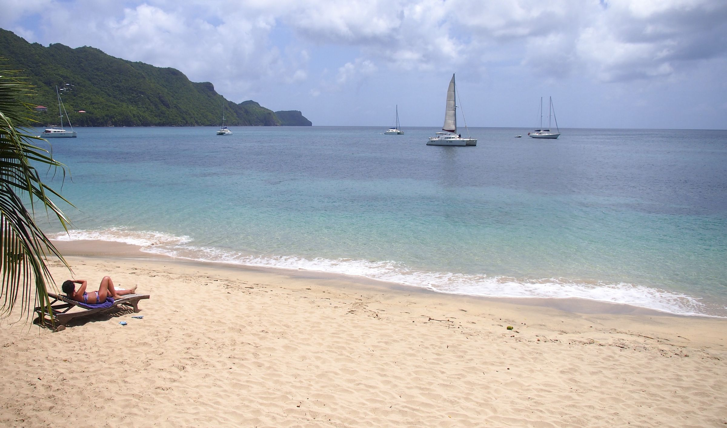 Wish You Were Here Sunning Like A Queen On Princess Margaret Beach Bequia Grenadines St Vincent