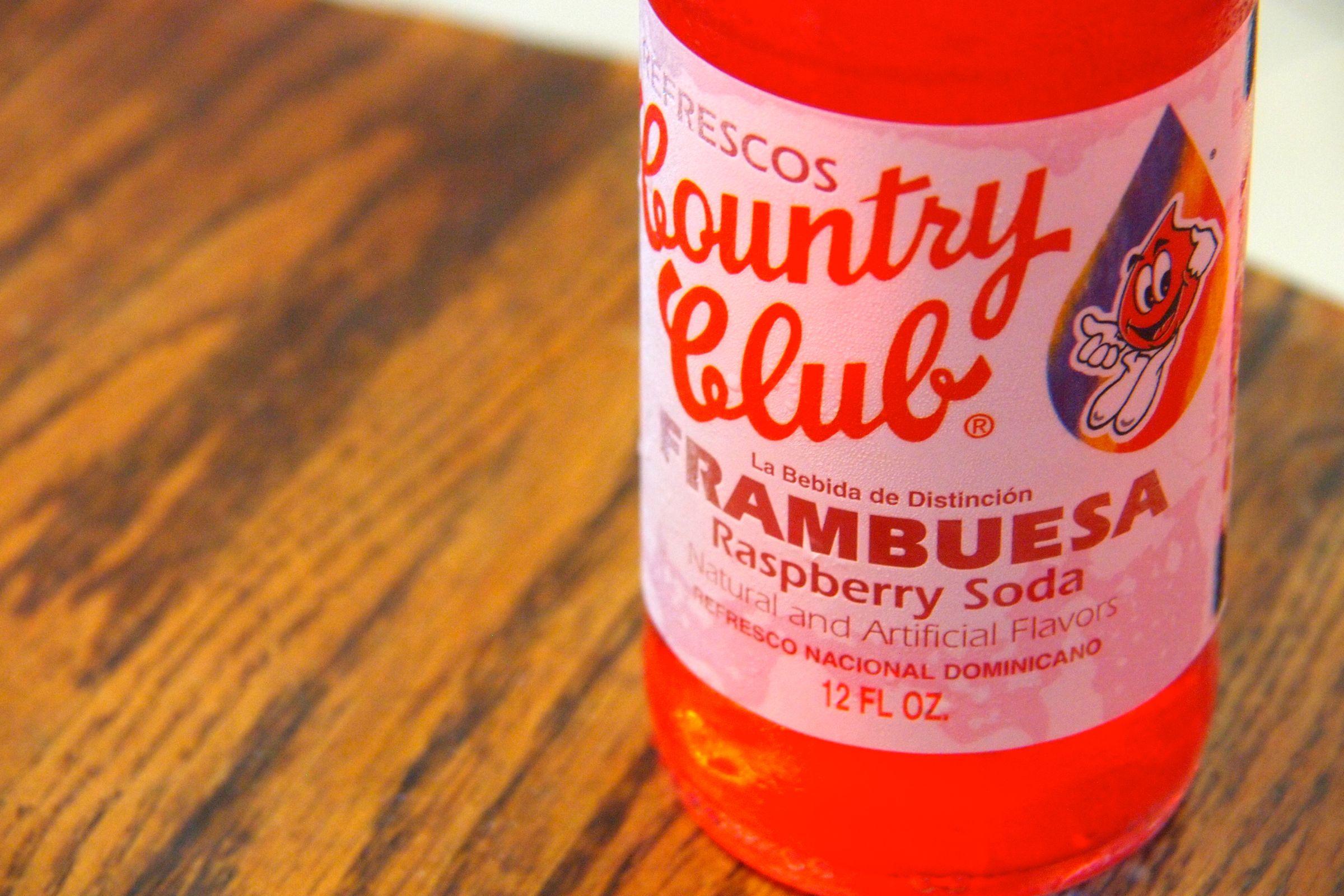 Taste Of The Caribbean Country Club Frambuesa Soda Rico