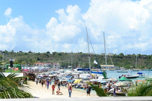Anguilla Summer Festival Caribbean Beach Party 2013 | Credit: Josveek Huligar