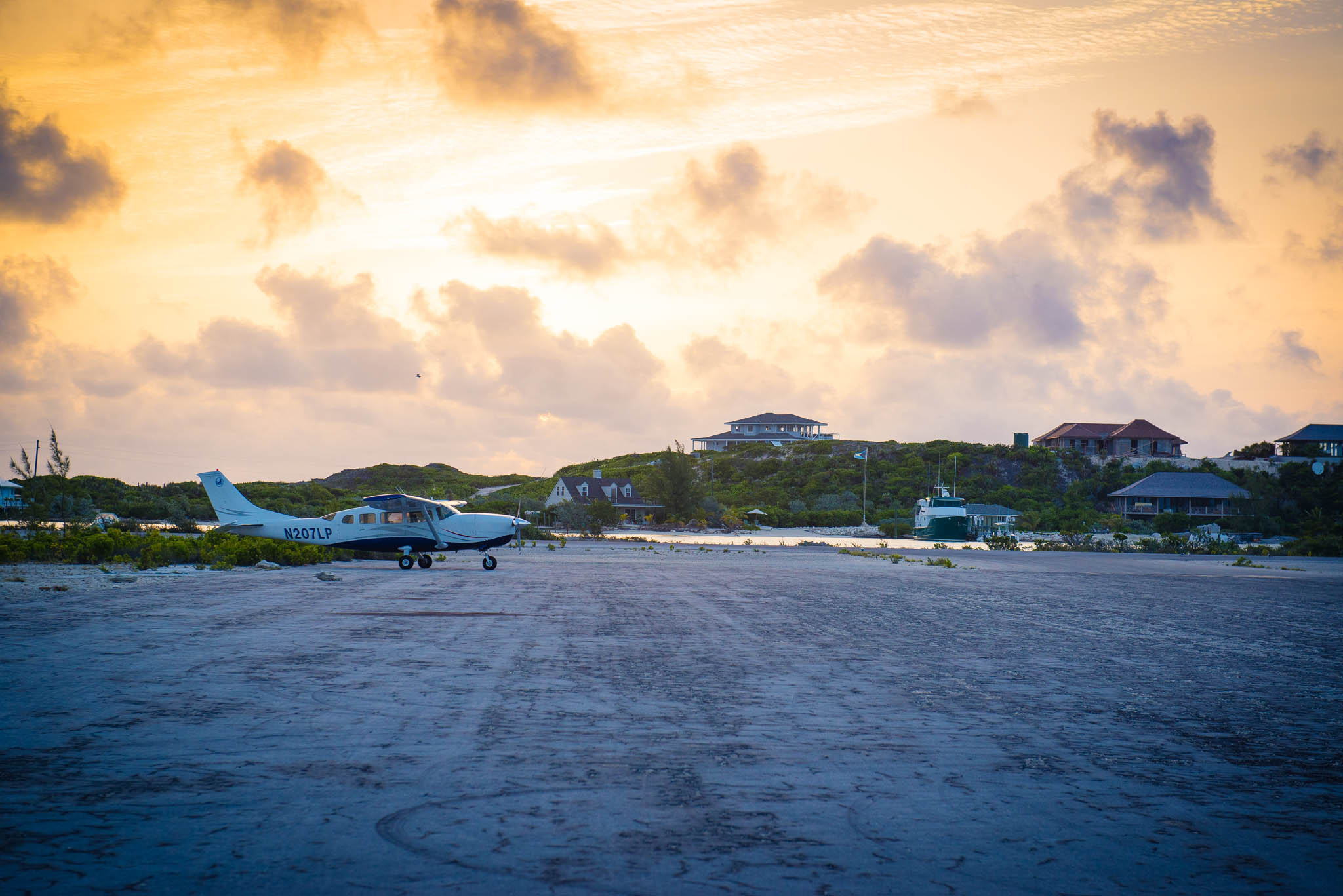 Sunrise Over Staniel Cay Airport: Photo of the Day | Bahamas