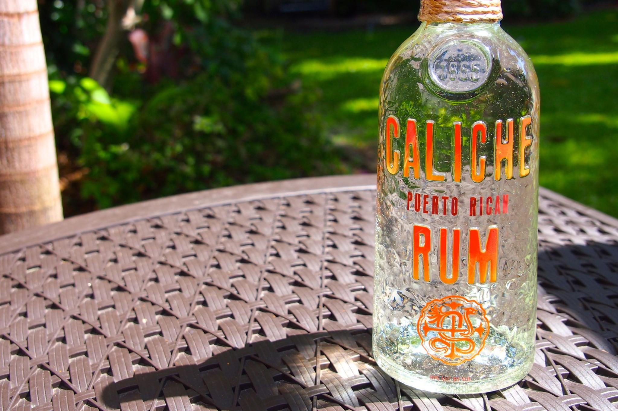 Friday Happy Hour: Caliche Aged White Rum de Puerto Rico