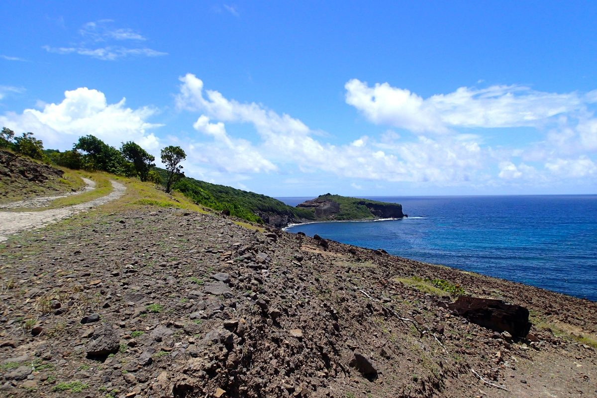 On the road to Bequia Head | SBPR