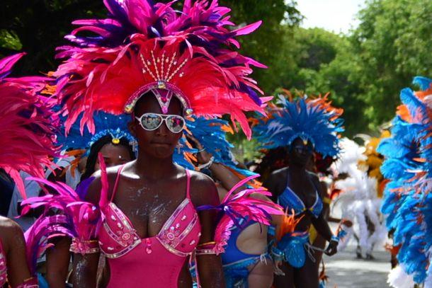 Anguilla Summer Festival 2013 Revelers | Credit: Josveek Huligar