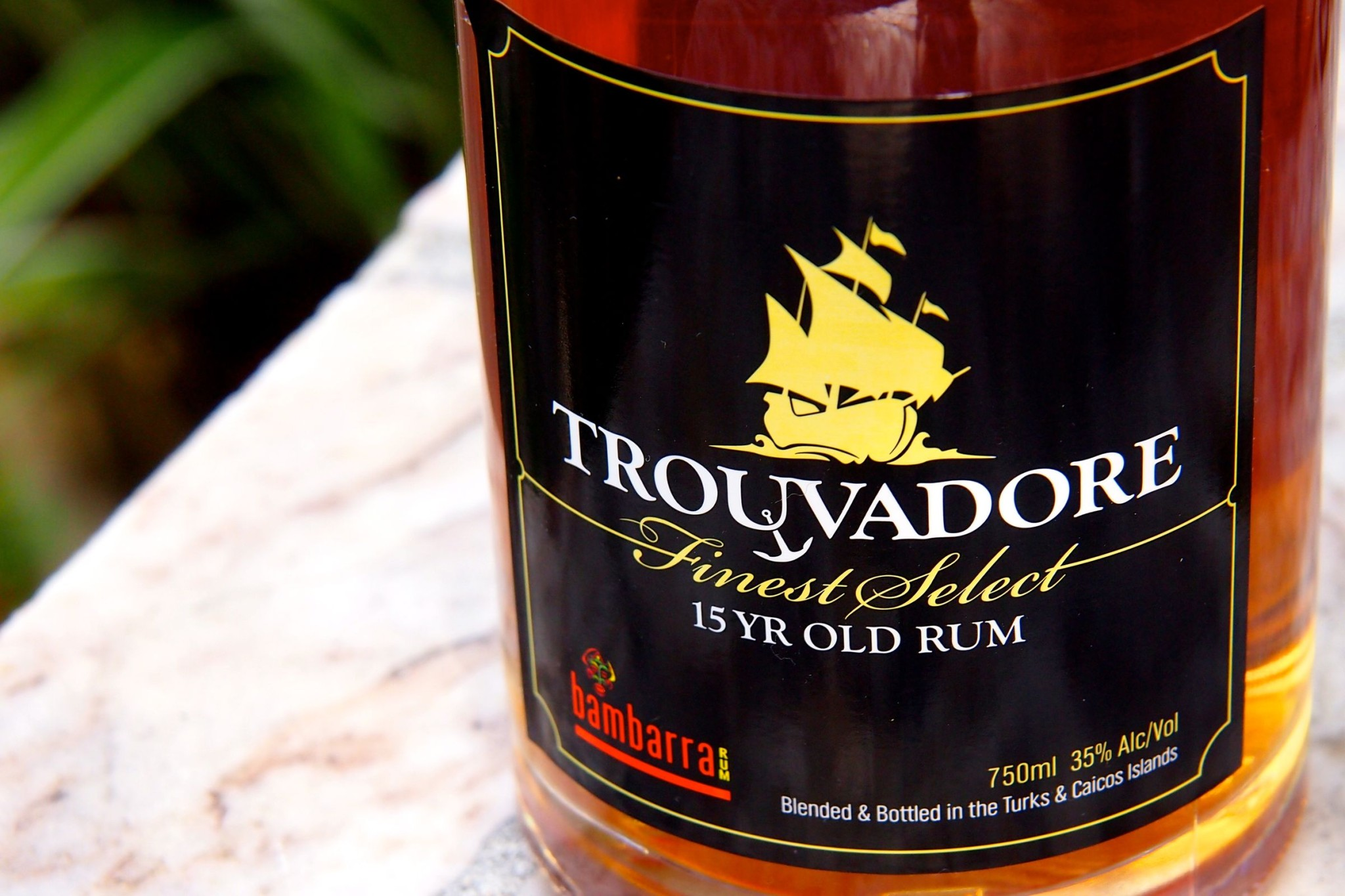 Friday Happy Hour: Trouvadore, The Top Shelf TCI Rum with the Wrong Name
