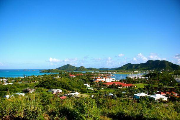 View from my room at Sugar Ridge, Antigua | SBPR