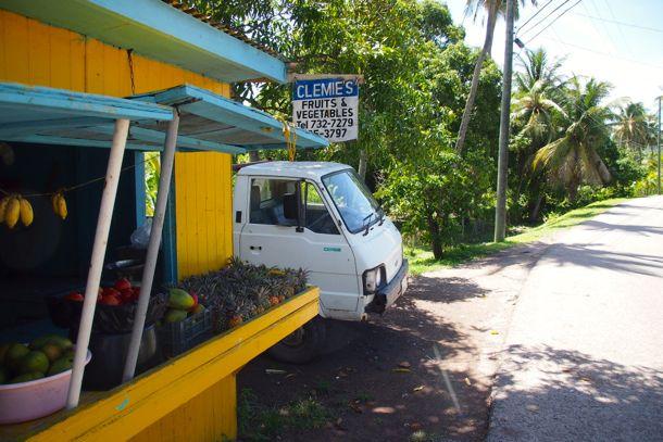 Clemie's Fruit Stand, Antigua | SBPR