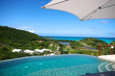 Poolside in the sky at Sugar Ridge, Antigua | SBPR
