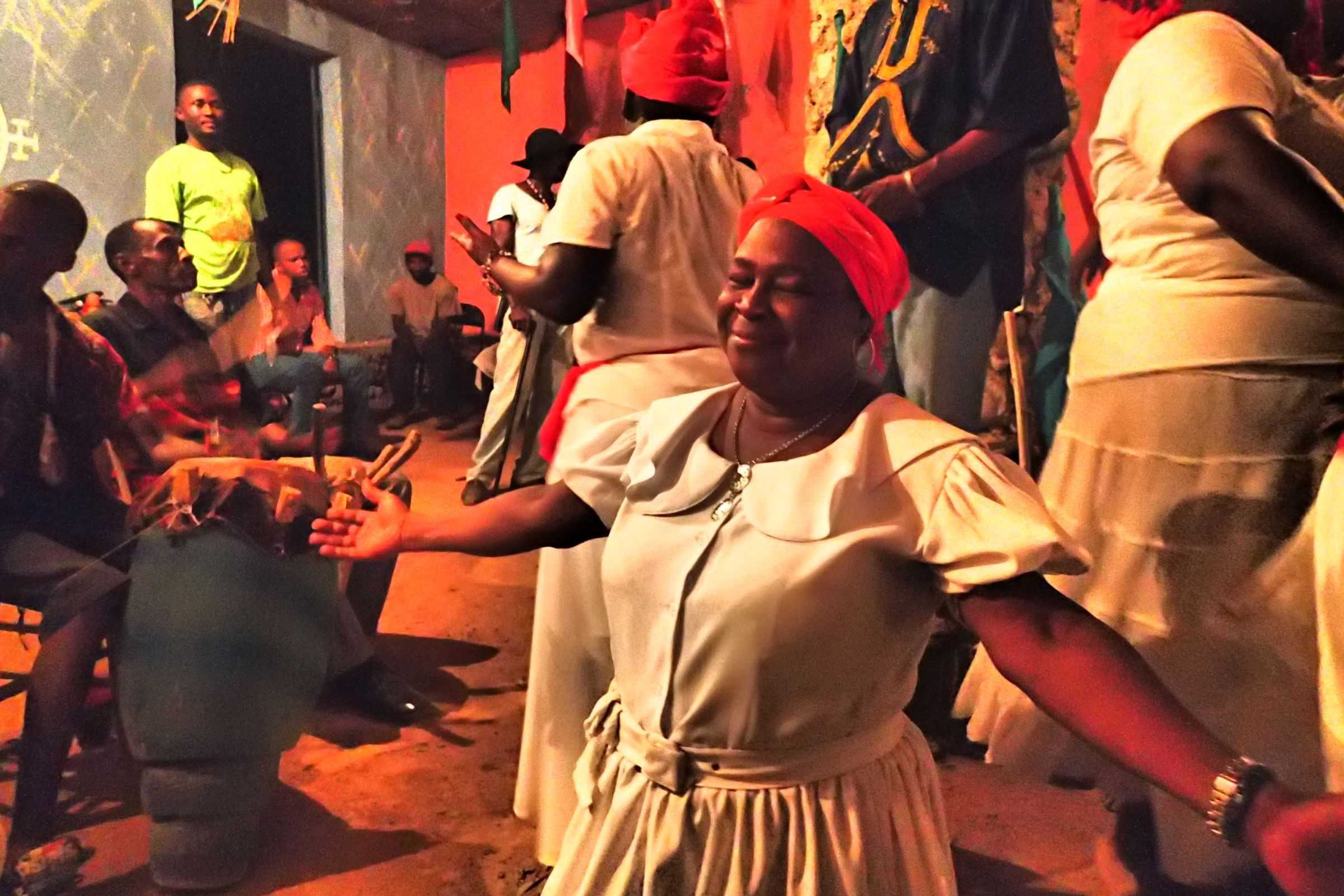 Caribbean Voodoo: Photo Of The Day: The Real Face Of Vodou In Haiti