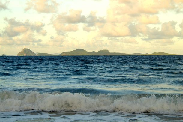 View of the Southernmost Grenadines from Petite Anse Beach, Grenada | SBPR
