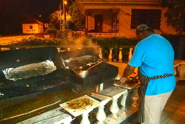 BBQ at The Buzz, Antigua | SBPR
