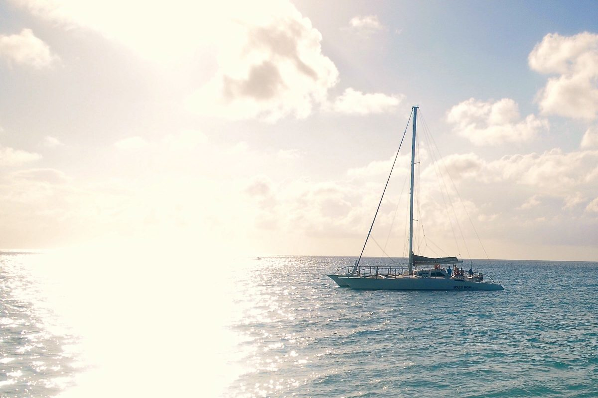 Anchored Off Rainbow Beach, St. Croix | SBPR