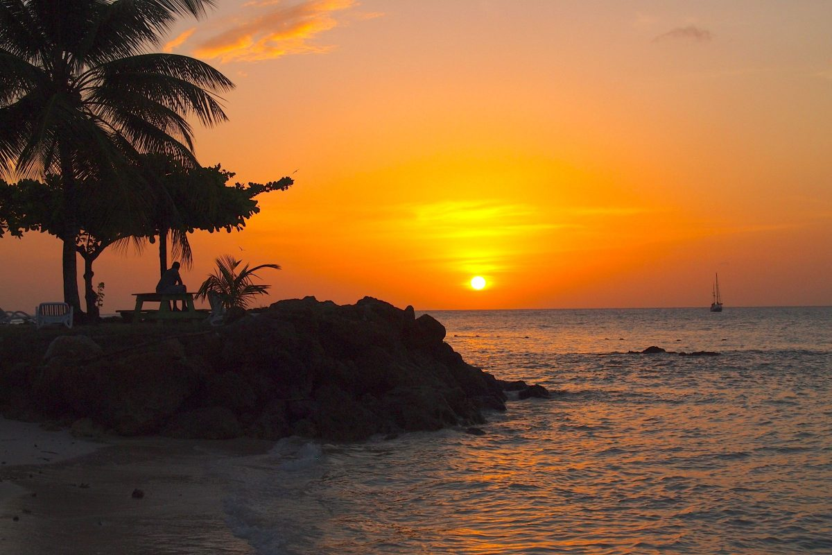 Another Amazing Sunset at Pigeon Point, Tobago | SBPR