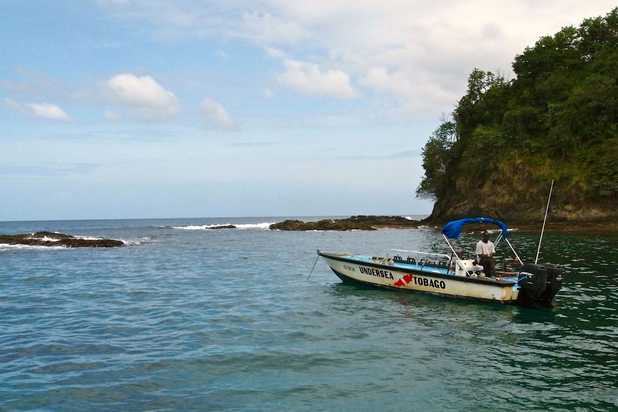 At Anchor With Undersea Tobago: Wish You Were Here