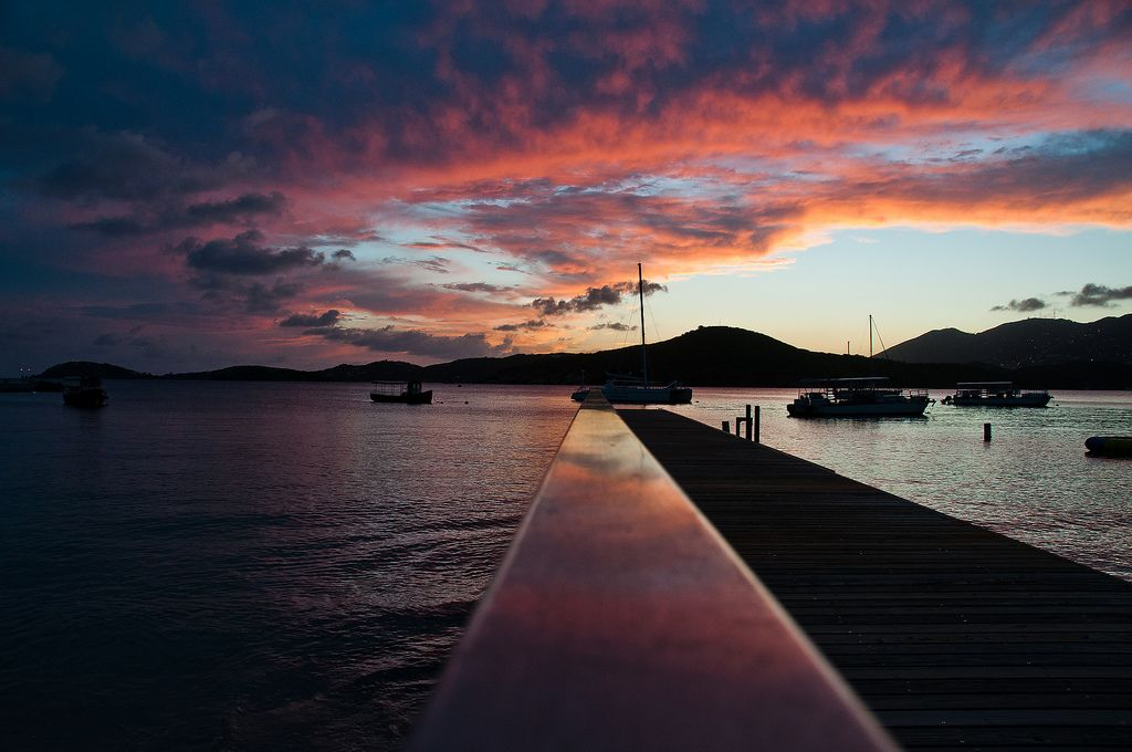 Best Spots to Experience Stunning Sunsets in St. Thomas: Photo of the Day