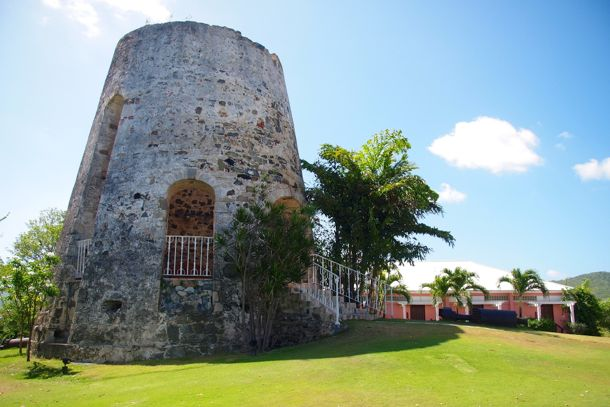 Ancient Sugar Mill on the grounds of The Buccaneer Hotel, St. Croix | SBPR