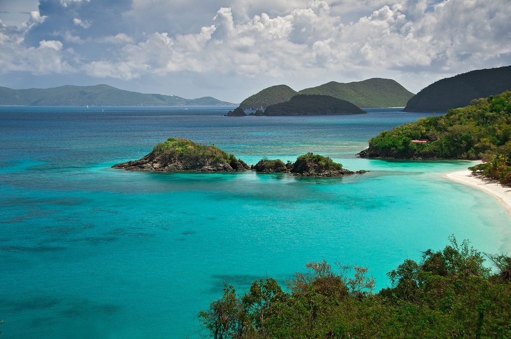Trunk Bay, St. John by Hiral Gosalia