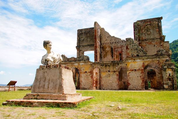 One of 15 Italian statues imported by King Henri I of Haiti to adorn Sans-Souci Palace | SBPR