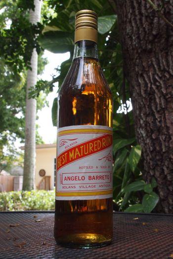 My unopened bottle of Bushy's 1 and 9 Best Matured Rum | SBPR