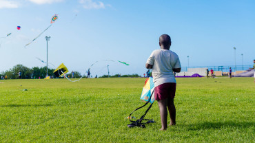 Kite Flying Kid Tobago