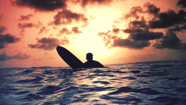 @UncommonCarib Barbados surfing sunset