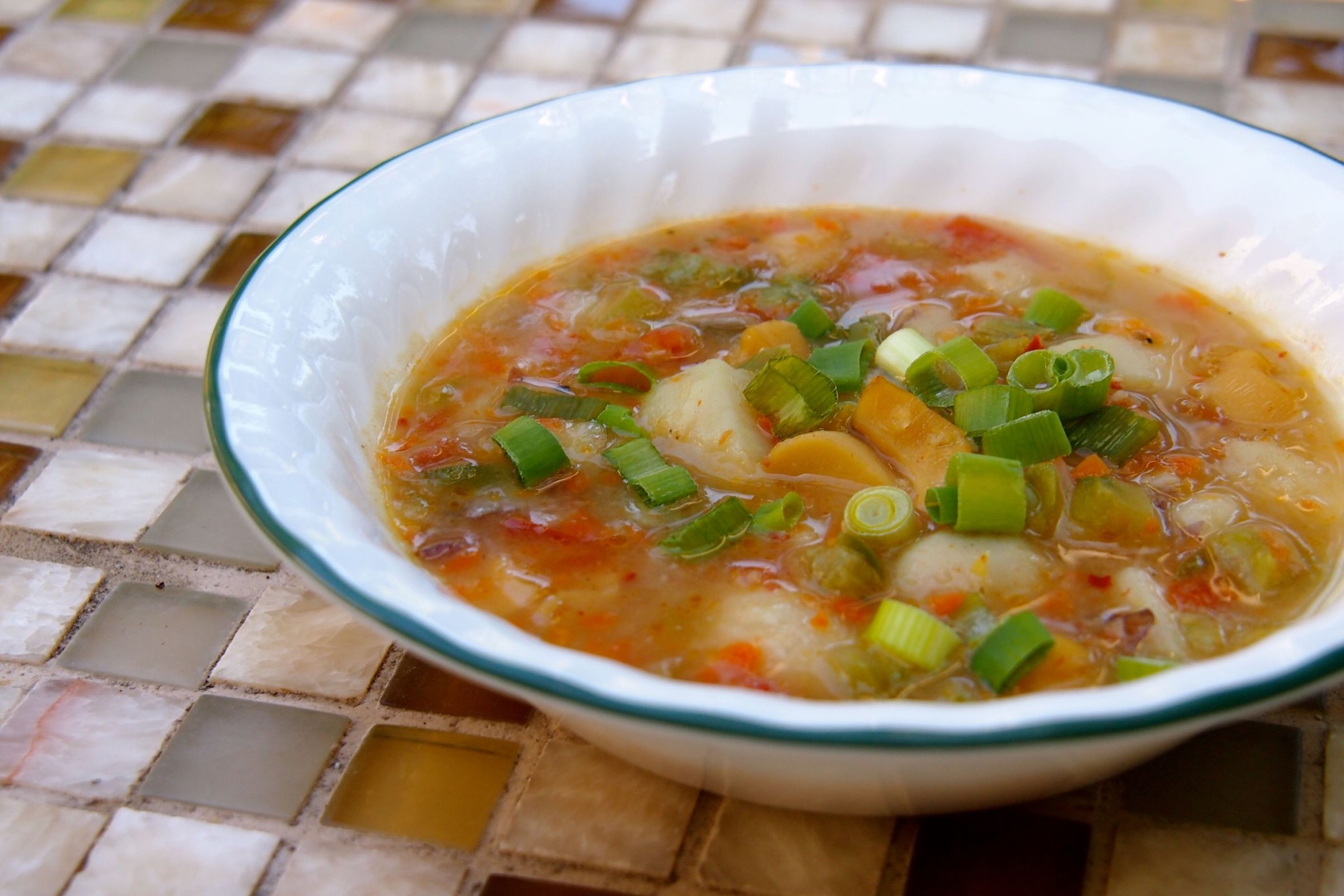 Recipe Redux: My First Stab at Nisbet Plantation's Island Conch and Dumpling Soup