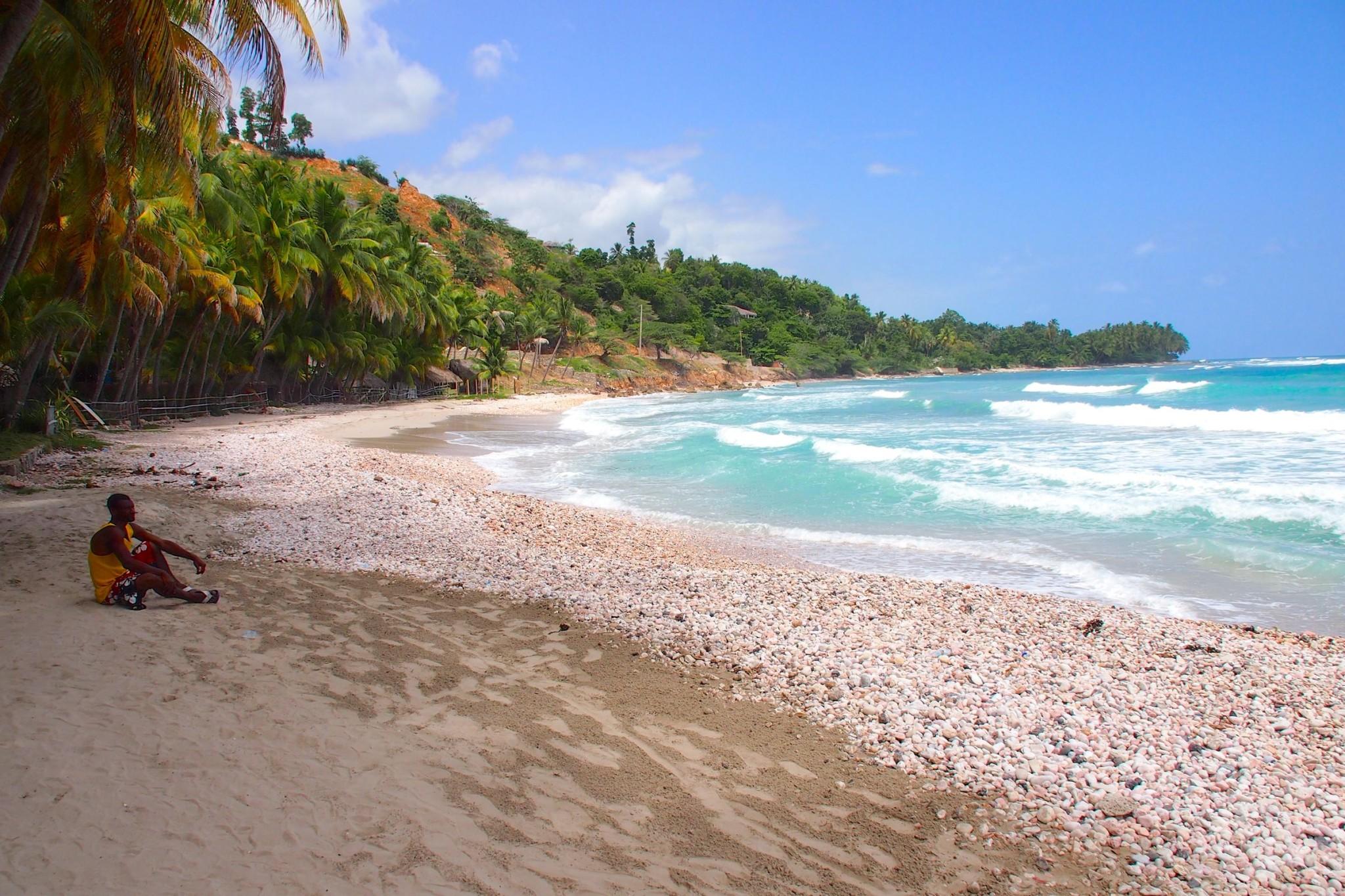 Kicking Back on Bobeach in Cayes-Jacmel, Haiti: Wish You Were Here