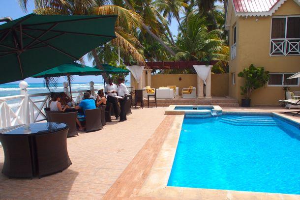 Le piscine at Villa Nicole, Cayes-Jacmel, Haiti | SBPR