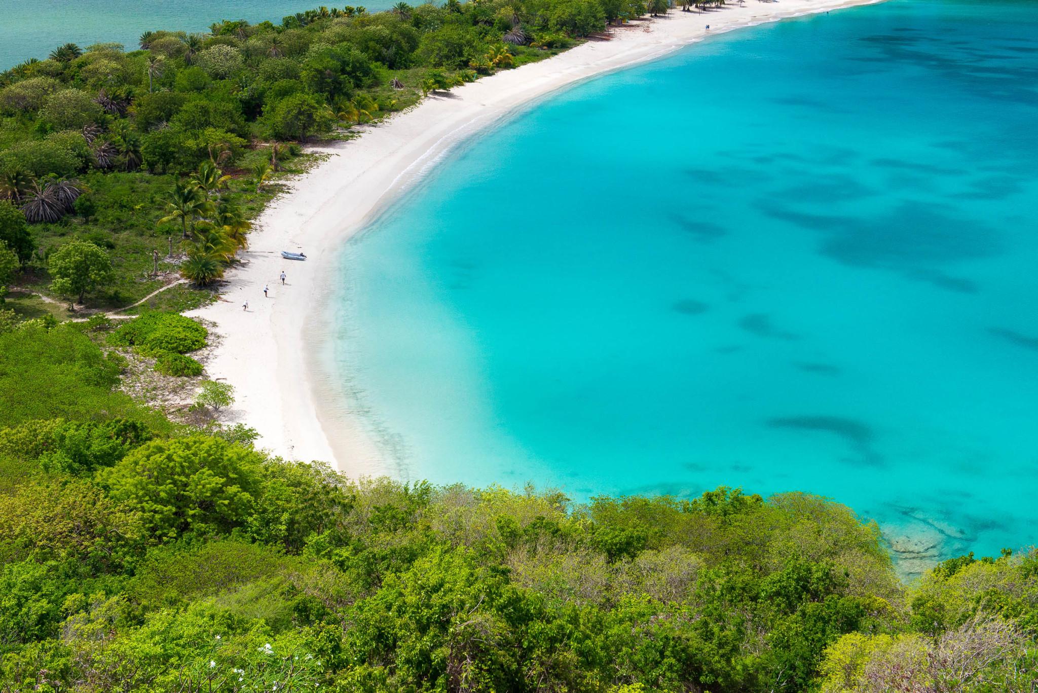 Deep Bay Beach, Antigua by Patrick Bennett