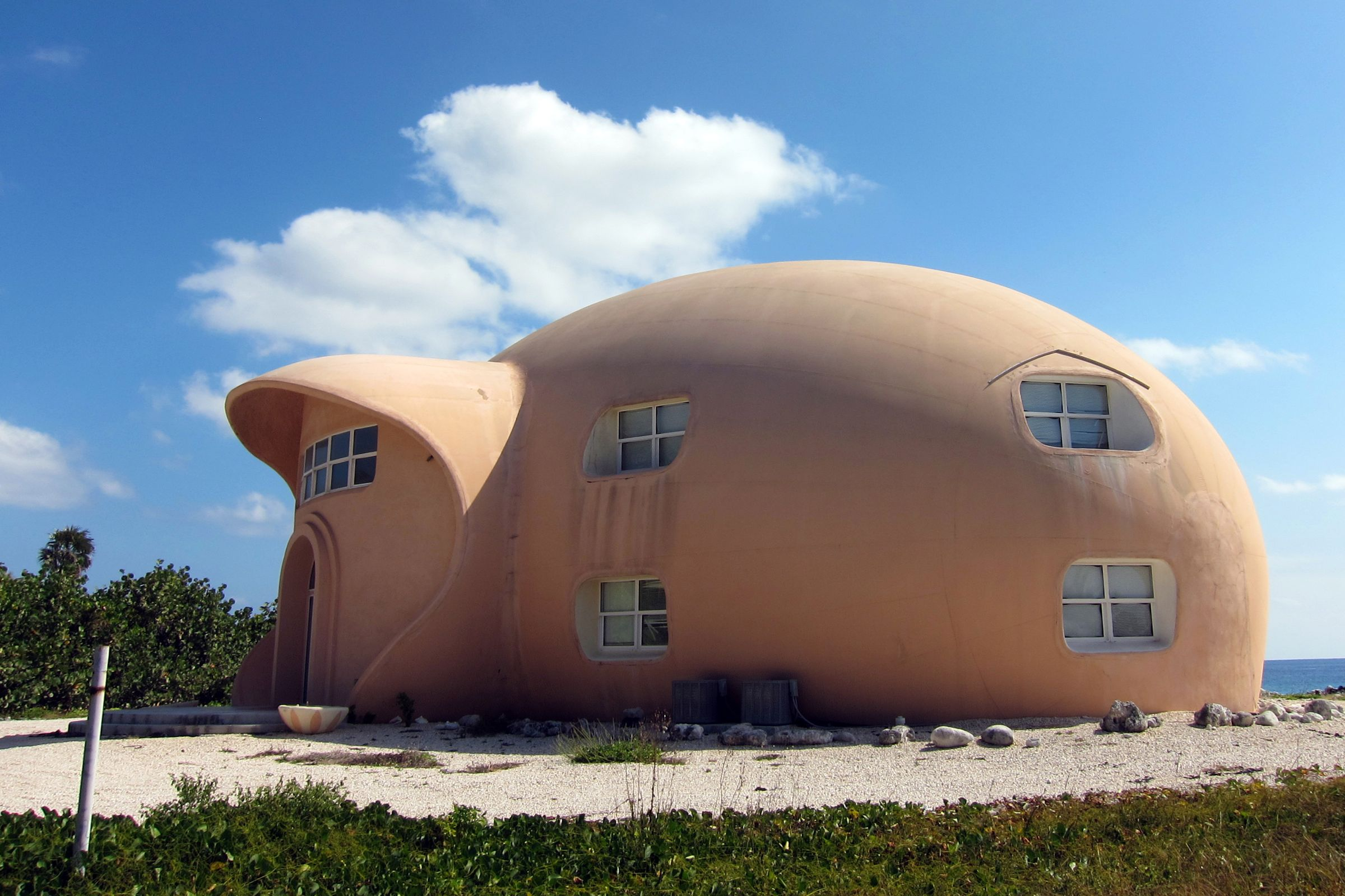 Uncommon Attraction The Bubble House On Cayman Brac