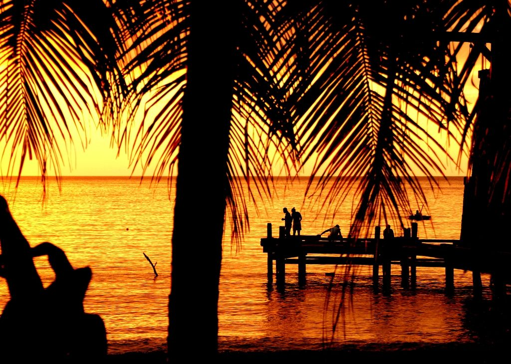 Savoring The Sunset on Wallilabou Bay, St. Vincent: Wish You Were Here