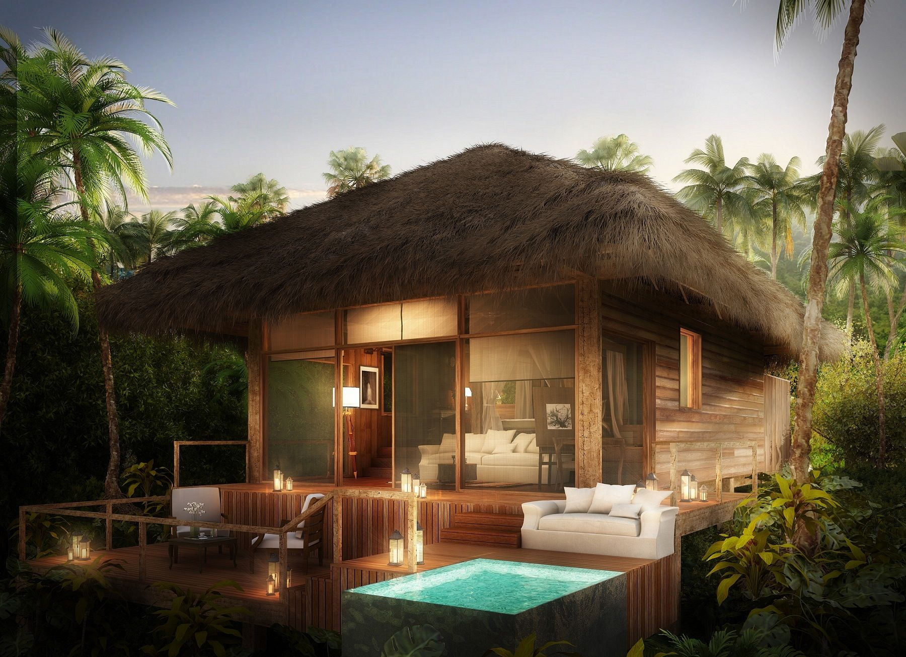 Own An Ultra Luxe Piece Of Belize At The Baymen Lodge And Spa