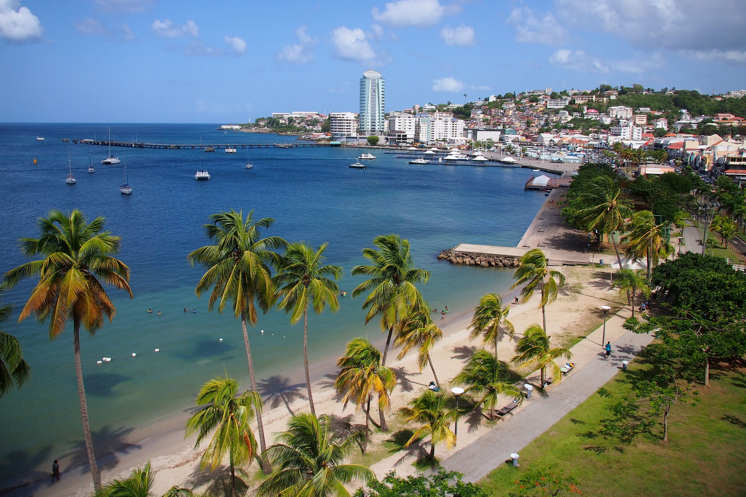 First Look Inside Martinique S Fort Saint Louis In 13