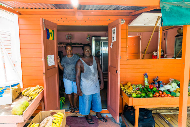 T&C Fresh Fruits & Veggies Bequia The Grenadines