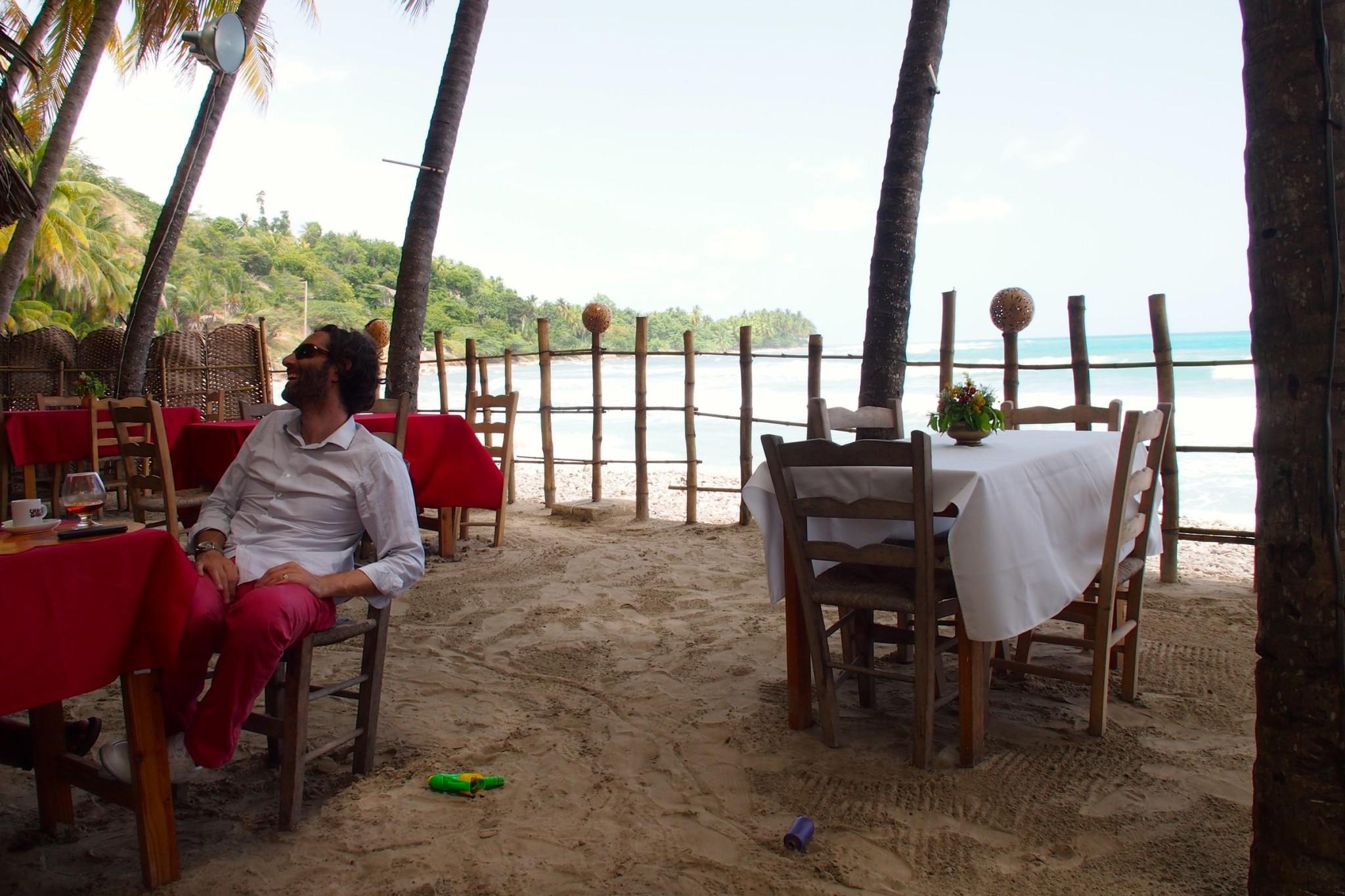 Living Le Joie de Vivre on Kabik Beach, Haiti