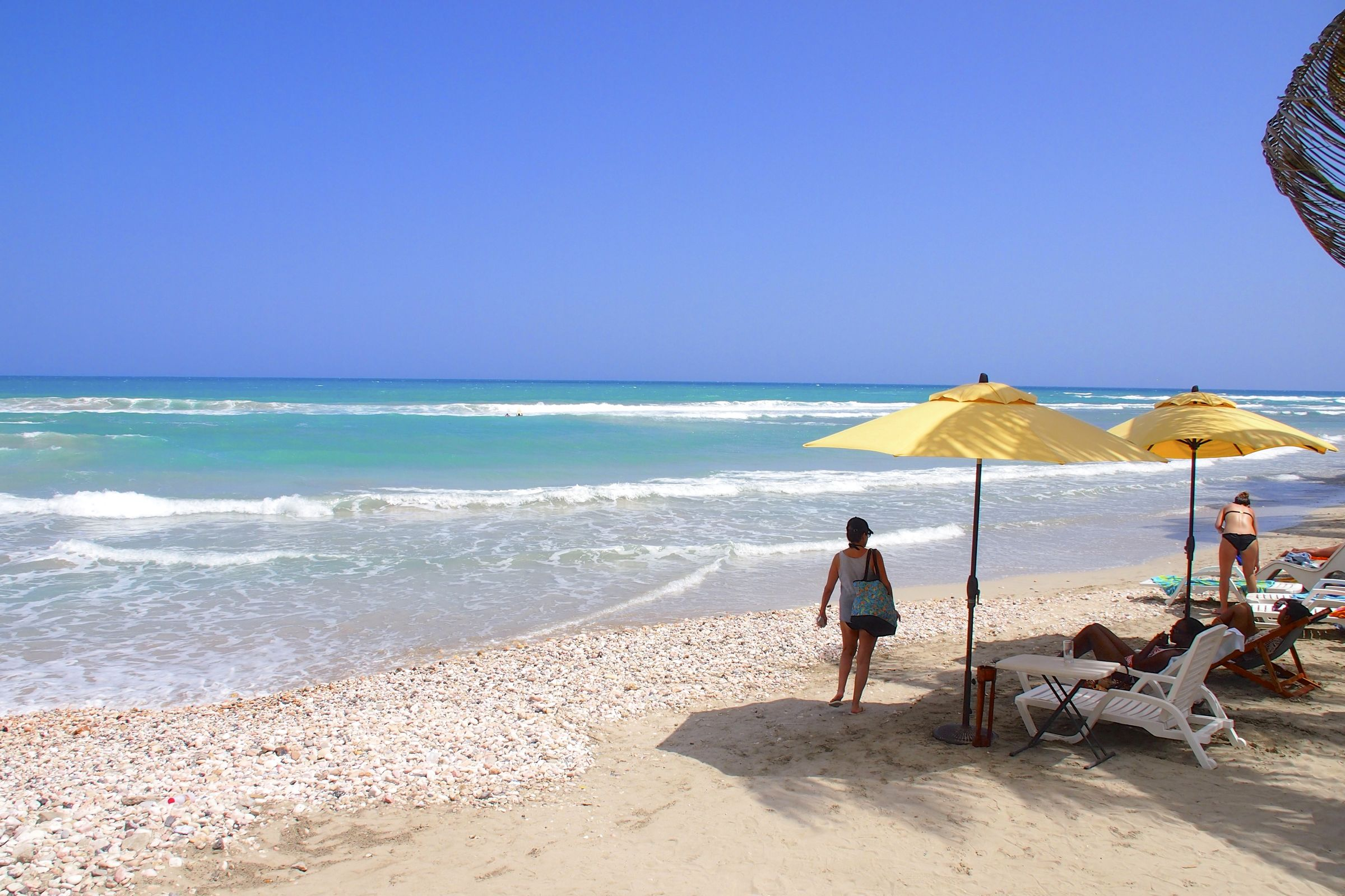 Wish You Were Here Hitting The Beach In Cayes Jacmel