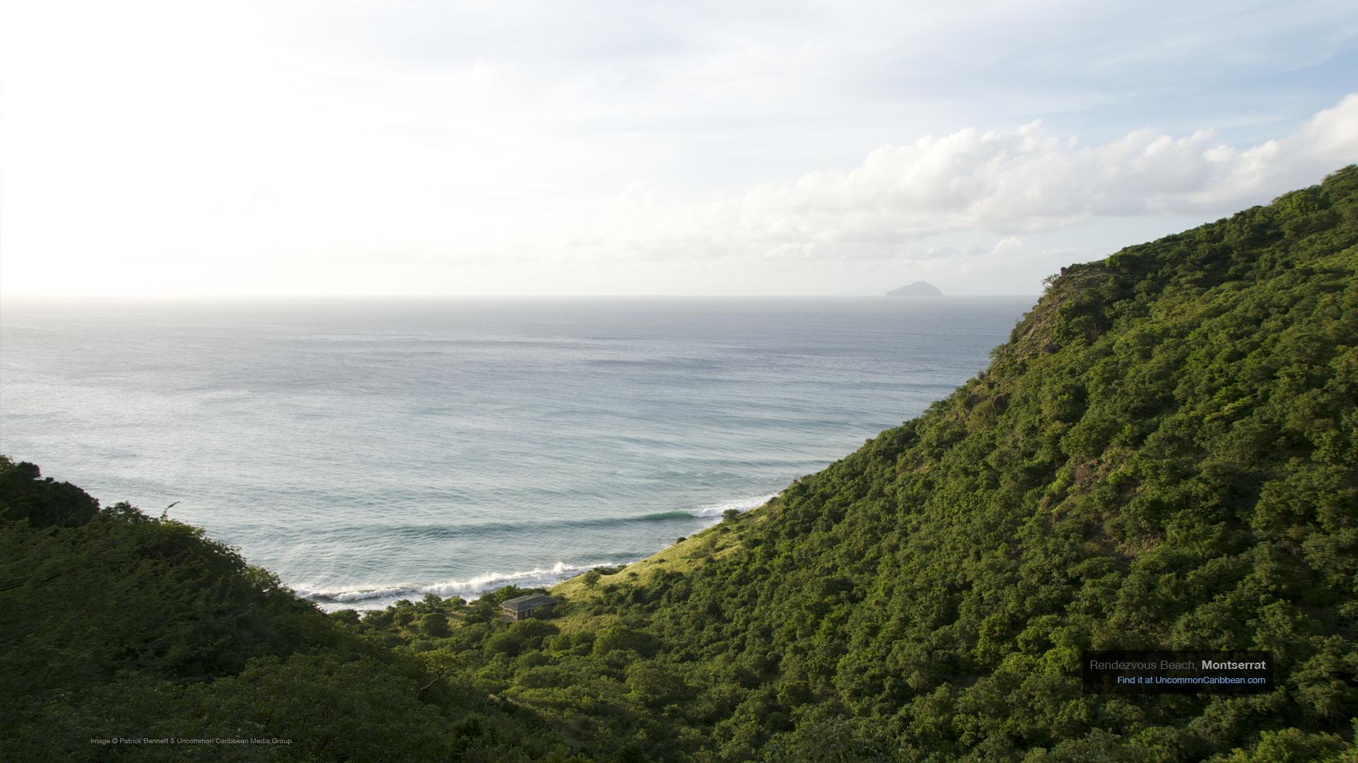 Caribbean Wallpaper: Montserrat's Rendezvous Beach