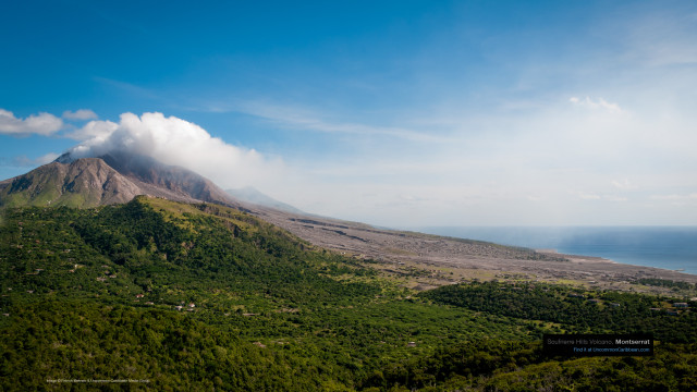 Soufrierre Hills Volcano, Montserrat