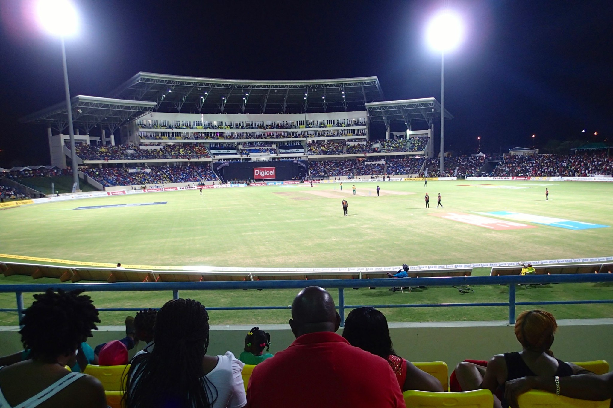 On-Site Antigua: Catching My First-Ever Live Cricket Match