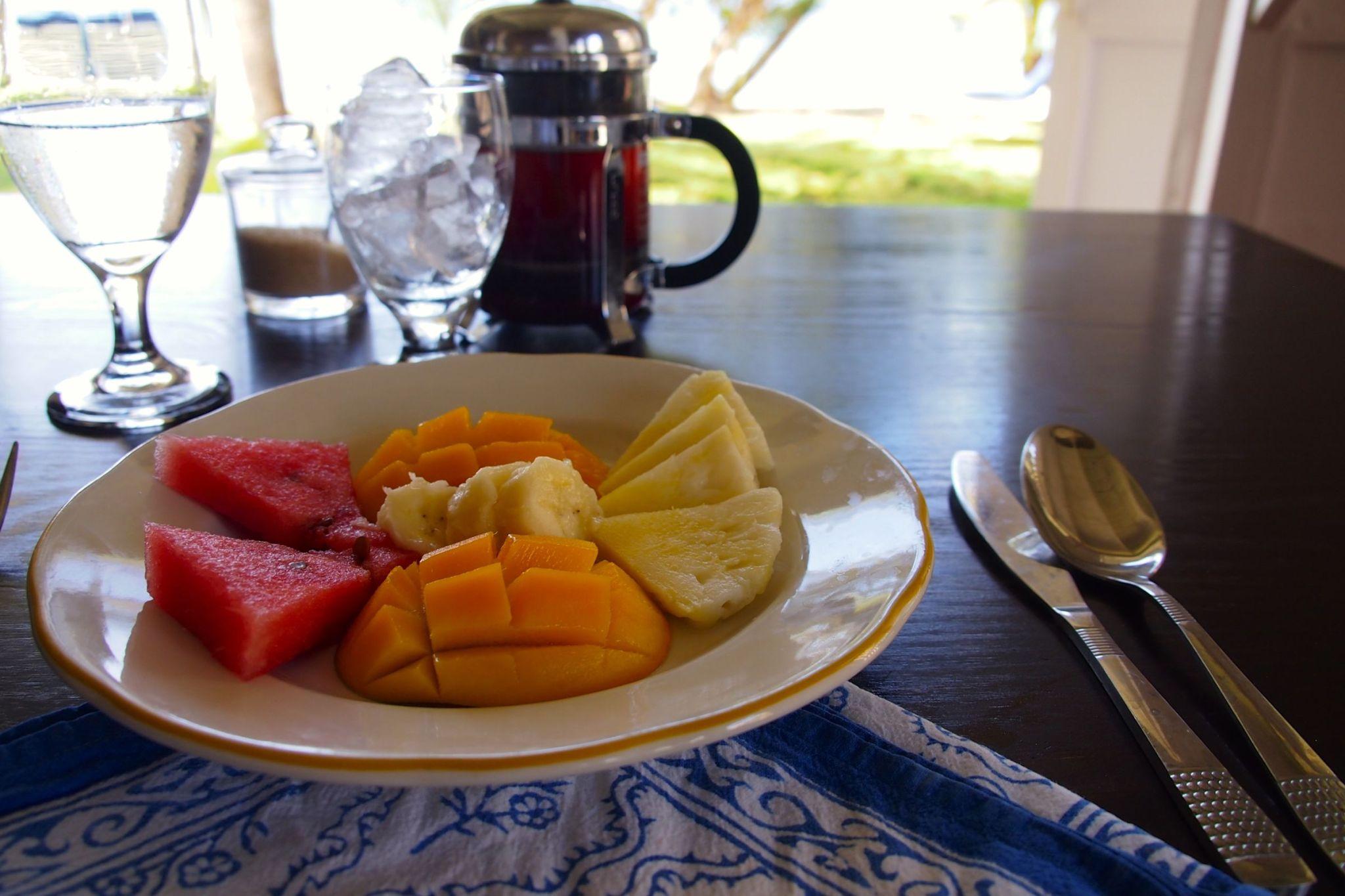 Loving the Localvore Breakfasts at Sugar Reef Bequia
