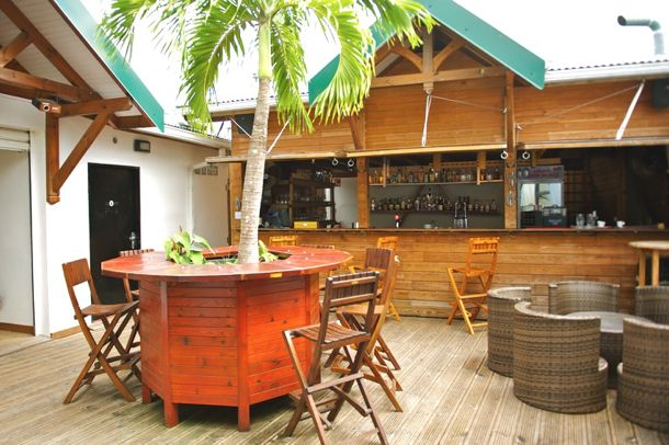 Le Bar at Le Kano in Trois-Ilets, Martinique