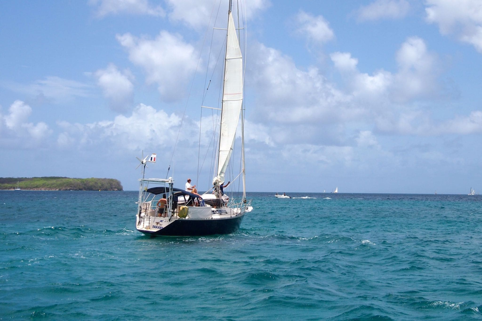 Sailing Around Southern Martinique: Wish You Were Here