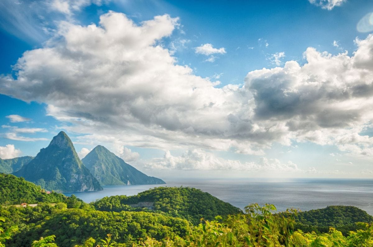 Super sexy St. Lucia, home of Chairman's Spiced Tea   Credit: Flickr user Jon Fife