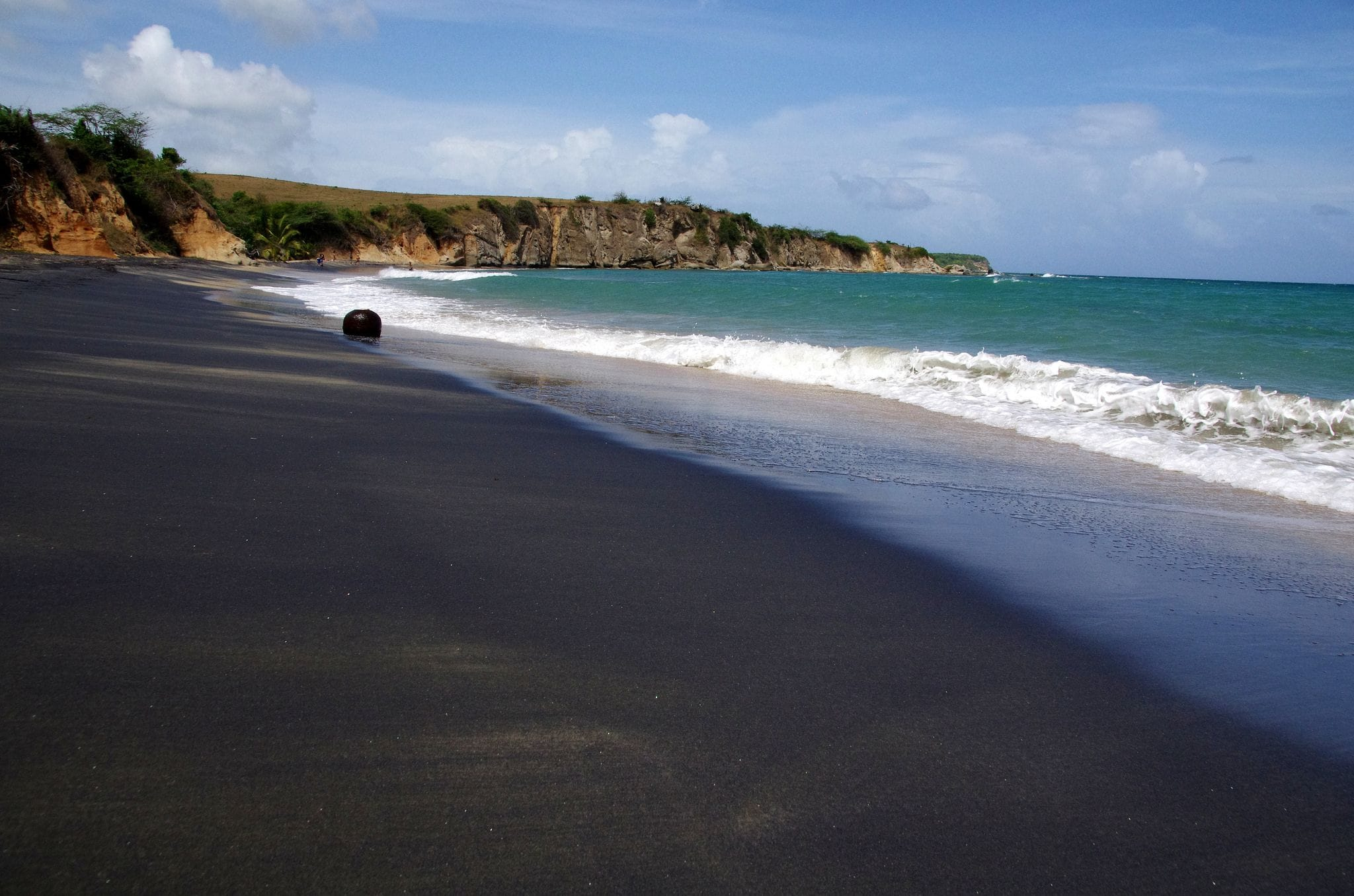 Playa Negra, Vieques: An Out of Place Black Sand Beach