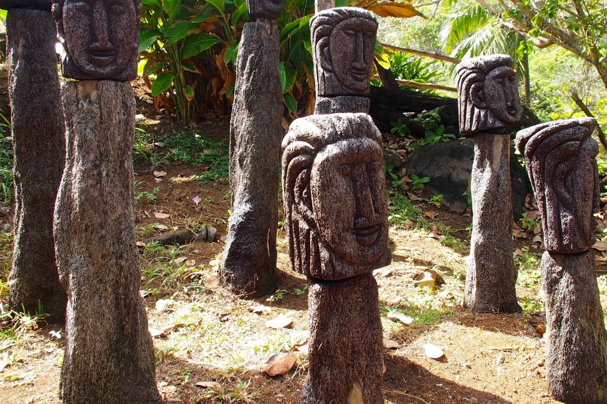 Kalinago Head Carvings, Dominica: Uncommon Attraction